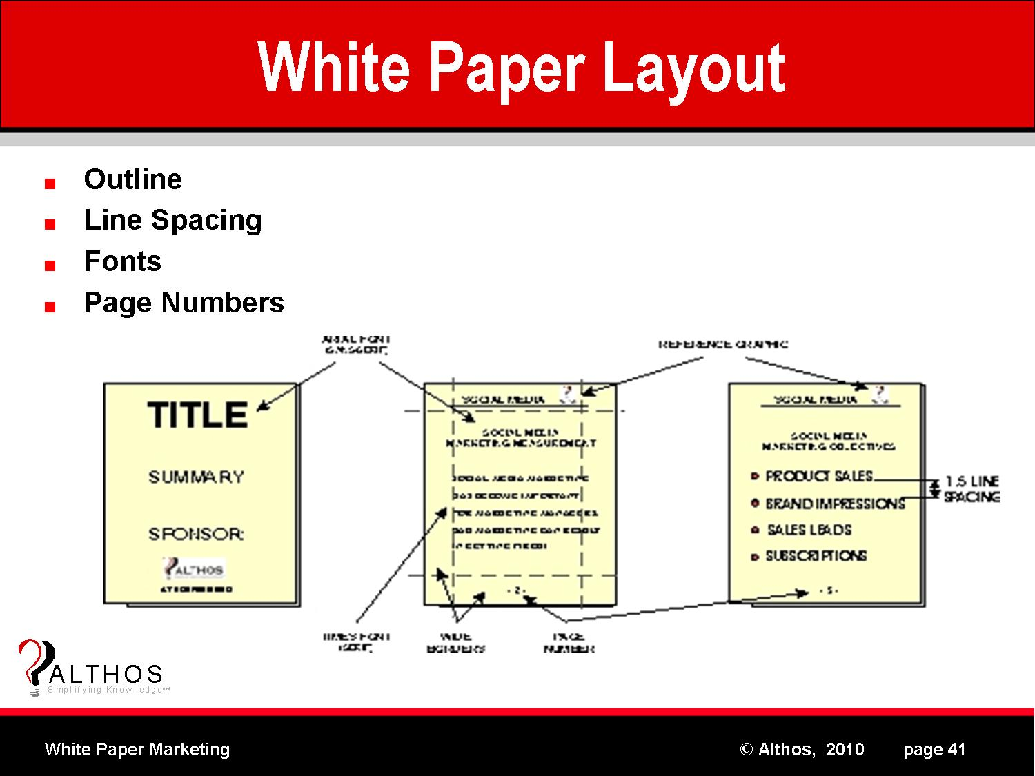 white paper marketing term White paper definition - a white paper is an authoritative guide or report that   hybrid: combines business/marketing and technical white papers and may be.